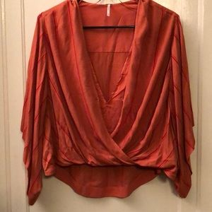 Free People High Low Blouse